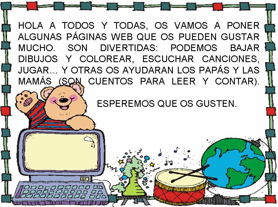 Webs interesantes | Colegio Público PERO NIÑO